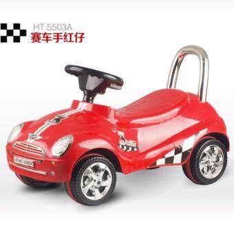 Mini Kid Car รถเด็กนั่ง รถขาไถ รถขาถีบ ทรงมินิ (RED)
