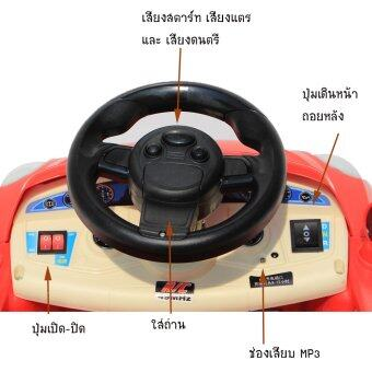 MKT รถเด็กไฟฟ้า รุ่น BMW ซีรีย์ 3 (สีแดง) (image 2)