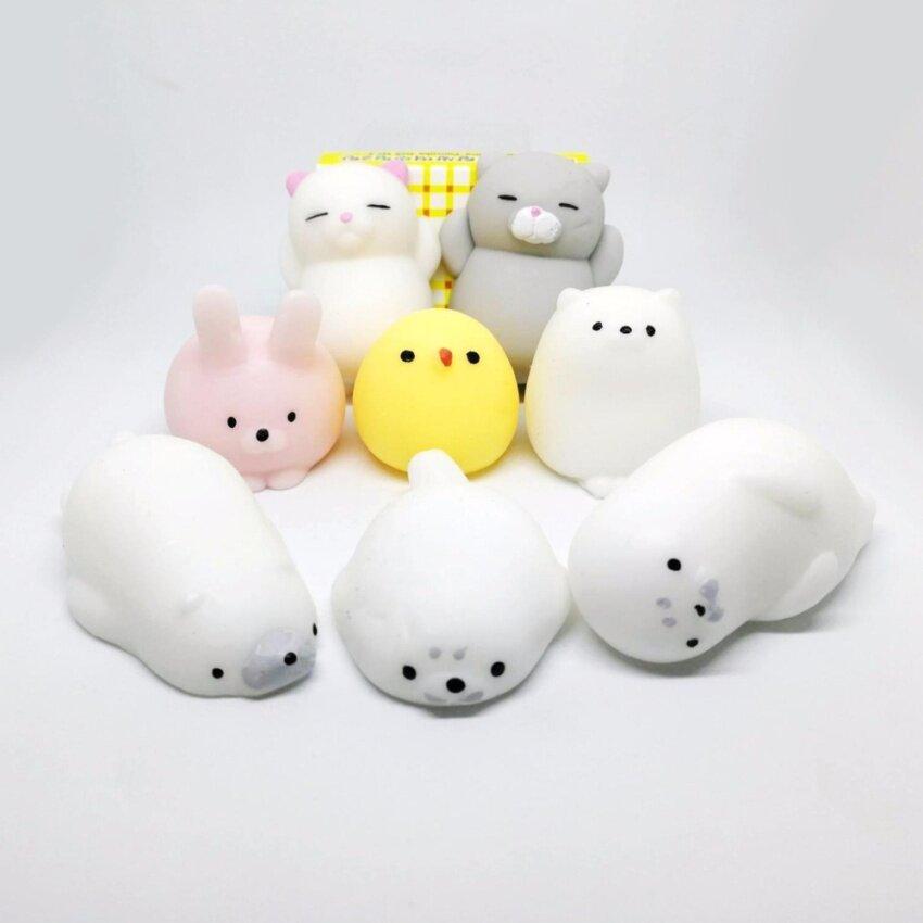 moni animal โมนิ ตุ๊กตานุ่มนิ่ม เซท 8ตัว