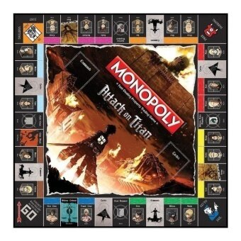 MONOPOLY: Attack on Titan Board Game - intl