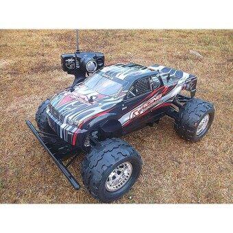 รถบิ๊กฟุตบังคับวิทยุMonster Truck 1:8 R/C 4WD Off-road series (Master X Turbo) ขนาดใหญ่ สเกล 1:8