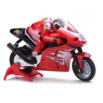 รถมอเตอร์ไซค์ Moto GP บังคับวิทยุ 2.4ghz Motorcycle 8012 สเกล 1:20 - Red