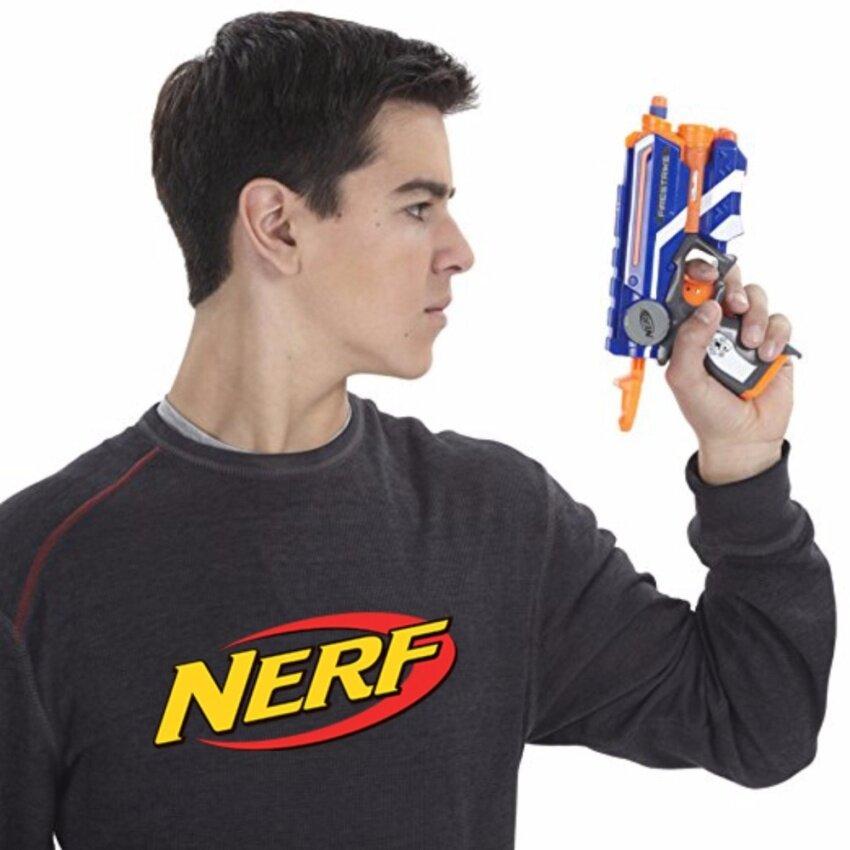 Nerf N-Strike Elite Firestrike ปืนเนิร์ฟ เอ็นสไตรค์ อีลิท ไฟร์สไตรค์ ลิขสิทธิ์แท้ ปืนของเล่นขายดีอันดับหนึ่ง