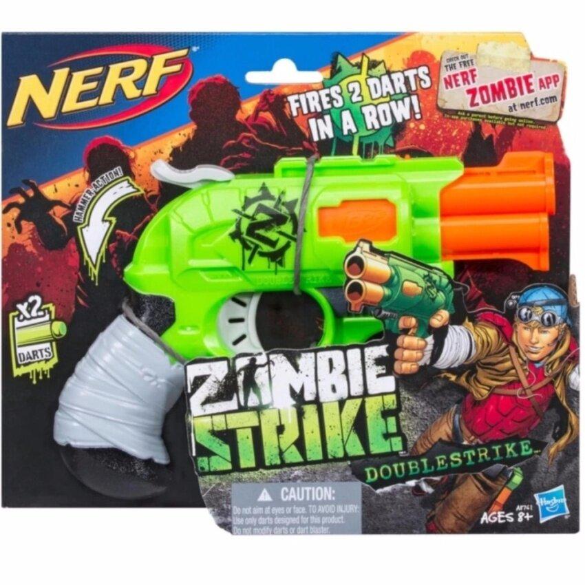 ปืน NERF ZOMBIE STRIKE DOUBLESTRIKE  ปืนเนิร์ฟ ซอมบี้สไตรค์ ดับเบิ้ลสไตรค์