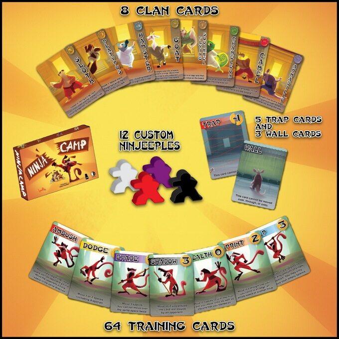 Ninja Camp 2016 Edition Board Game