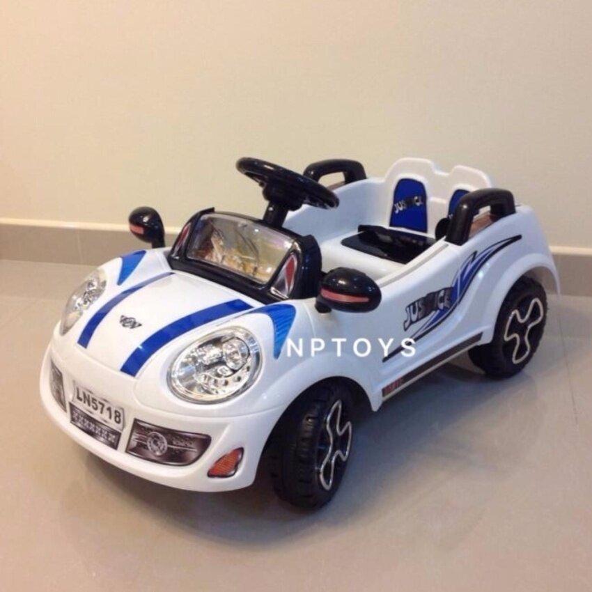 NP Toys รถแบตเตอรี่ รถเด็กนั่ง มินิจัสติน