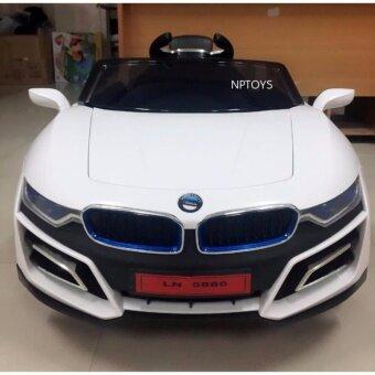 NP Toys รถแบตเตอรี่ รถเด็กนั่ง BMW i8 บังคับวิทยุด้วยรีโมทและขับธรรมดา
