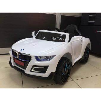 Np Toys รถแบตเตอรี่เด็ก รถเด็กนั่ง บังคับรีโมทด้วยวิทยุและขับธรรมดา BMWLN4880