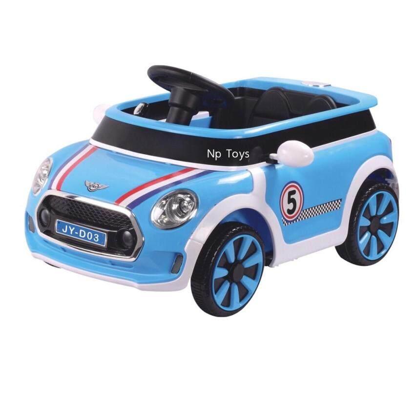 Np Toys รถแบตเตอรี่เด็ก รถเด็กนั่ง มินิ บังคับวิทยุด้วยรีโมทและขับธรรมดาNo.LND03 image