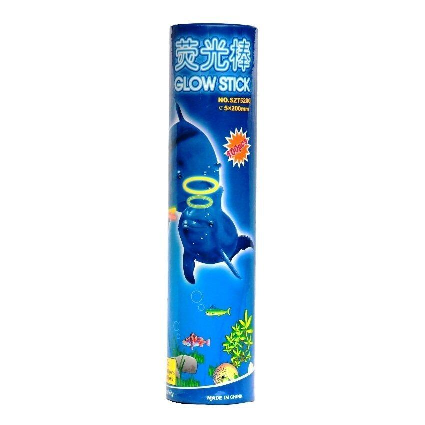 OMG Glow Stick แท่ง/กำไลเรืองแสง ขนาด 20 cm./100 ชิ้น (5สี)