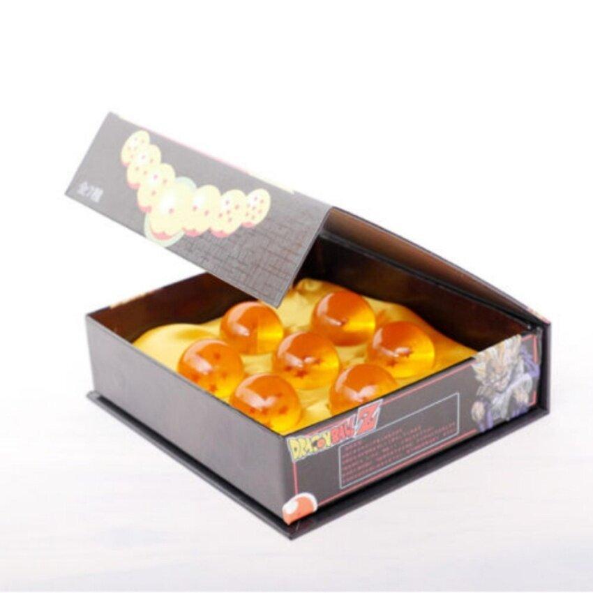 Original Box Anime Dragon Ball DragonBall Z Stereo Star Crystal 3.5cm Ball Set - intl