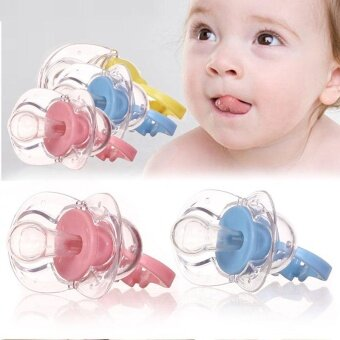 Orthodontic Baby Cute Pacifier Nipple Protection Time SootherDurable - intl