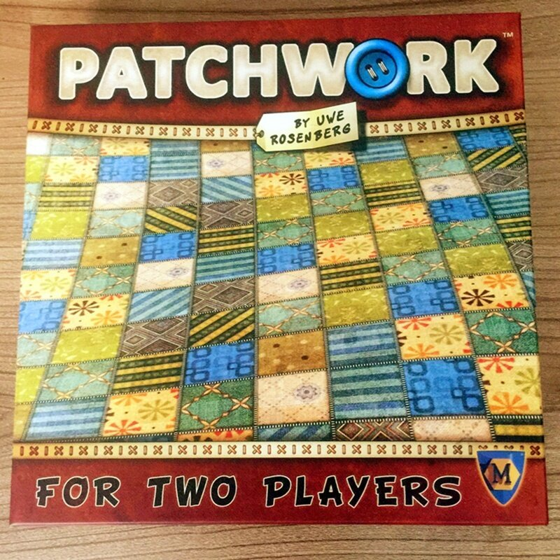 Patchwork Board Game For Two Players Funny Party Games Paper Cards - intl