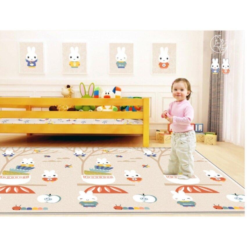 Patricks Kids Rabbit Playmats แผ่นรองคลาน เสื่อรองคลาน ลาย กระต่าย ขนาด 200*180*1 cm.