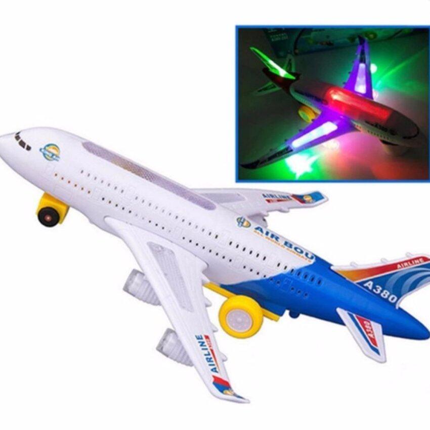 PC ของเล่นเด็ก เครื่องบิน Air Bus A380 วิ่งได้ มีไฟ มีเสียง