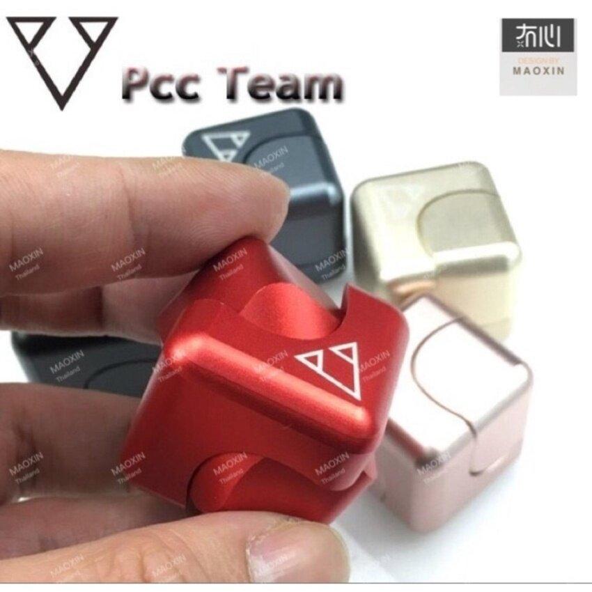 Pcc ทีมตารางปั่นอยู่ไม่สุขของเล่นEDC Fidget มือปั่นสำหรับออทิสติกและสมาธิสั้นเพิ่มขึ้นโฟกัสให้มือไม่ว่าง