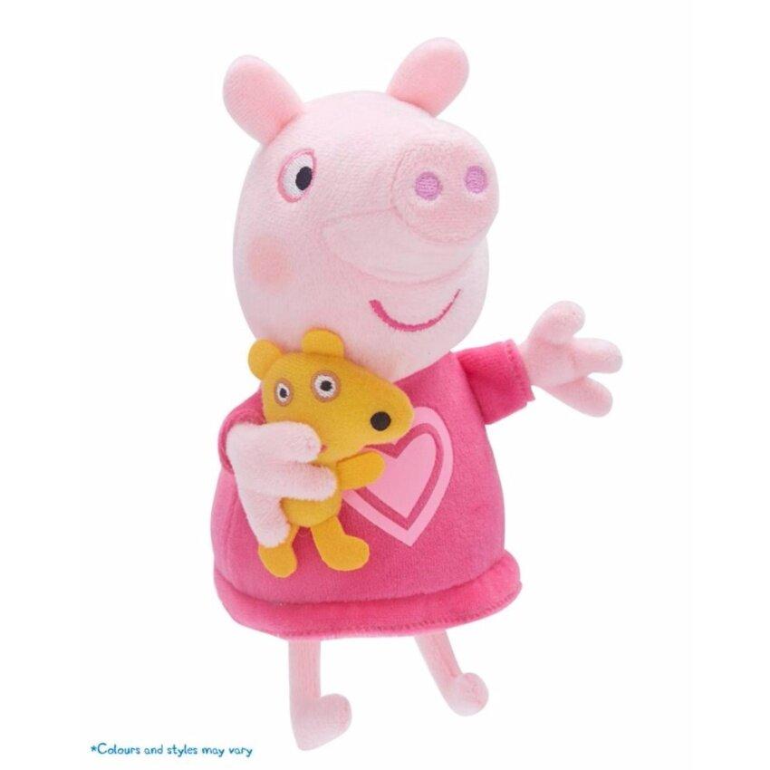 ขาย ตุ๊กตาผ้า PEPPA PIG TALKING BED TIME W/SOUND ASST RED