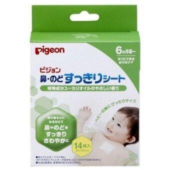 PIGEON แผ่นแปะแก้หวัด (14 ชิ้น/กล่อง)