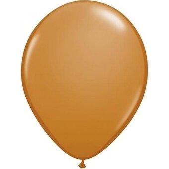 Pioneer Balloon Company 100 Count Latex Balloon  11  Mocha Brown - intl