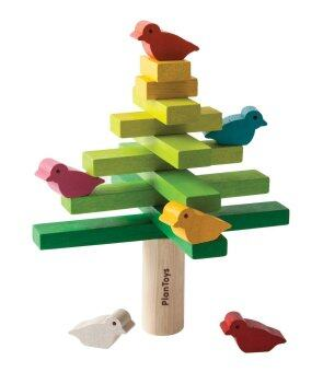 PlanToys ของเล่นไม้ Balancing Tree ชุดของเล่นไม้ ต้นไม้ บาล๊านซ์