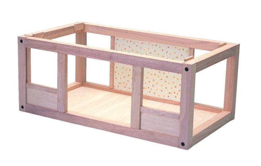 PlanToys BASEMENT FOR MY FIRST DOLLHOUSE ของเล่นไม้ ฐานบ้านเปี่ยมรัก สำหรับบ้านตุ๊กตา