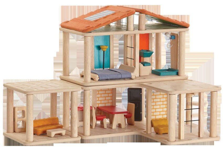 PlanToys ของเล่นไม้ Creative Play House บ้านหนูน้อยสร้างสรรค์ บ้านตุ๊กตา