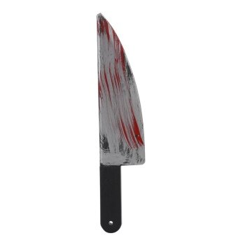 Plastic Bloody Halloween Party Weapons Fancy Knife Dress Costume Access - intl
