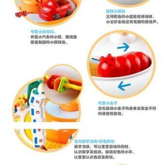 PlayToys โต้ะกิจกรรมรถไฟ Train Activity Table - 3