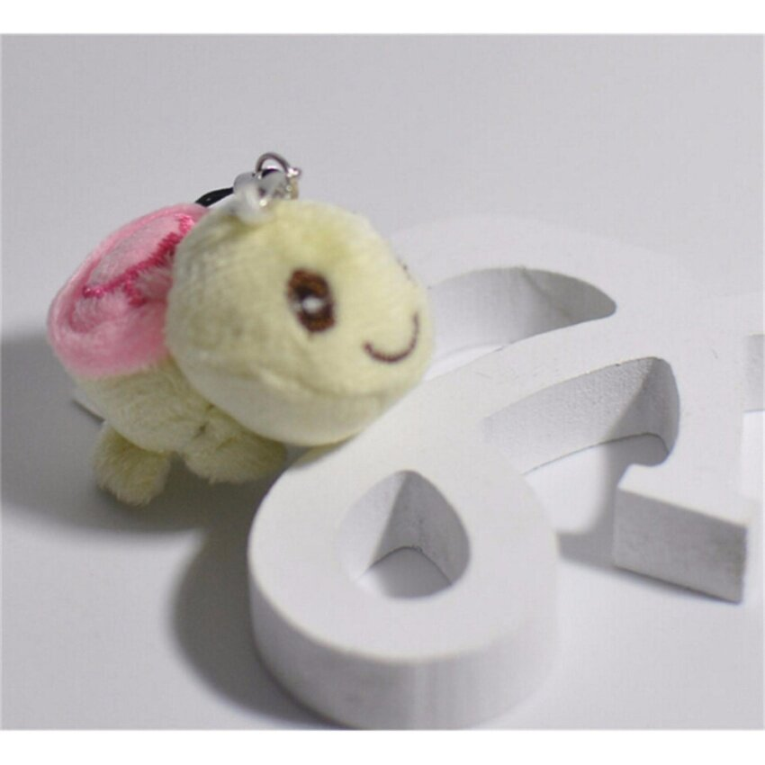 Plush Toy Doll Little Cute Tortoise For Baby Kid Lovely Plush Toy Wholesale Pink - intl