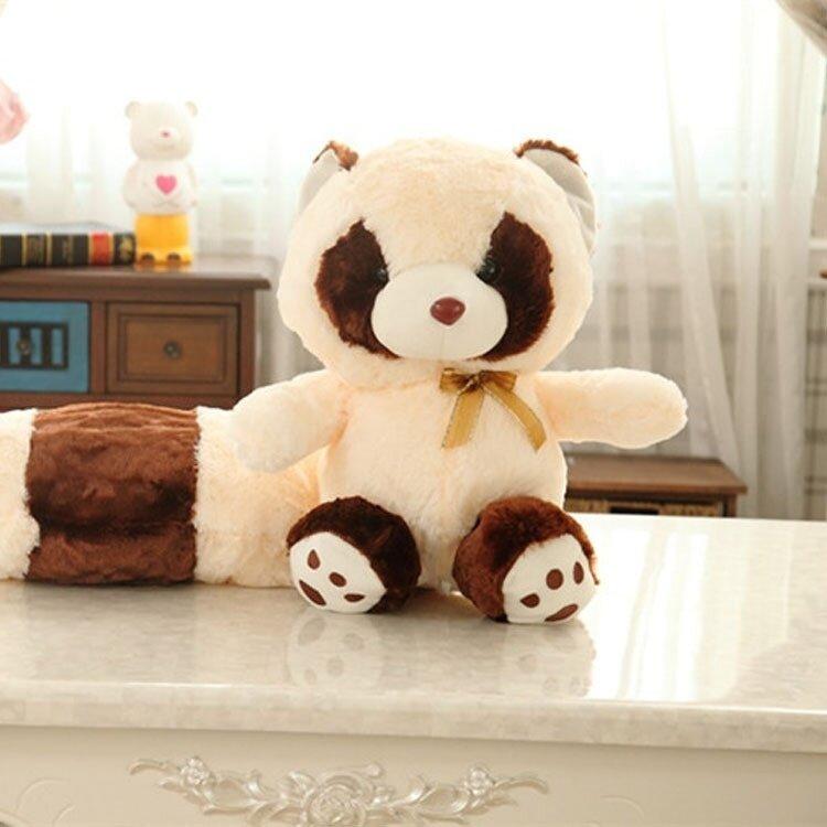 Plush toys, raccoon dolls, long tailed raccoons, dolls, hugs, bears, cute raccoons, birthday gifts - intl