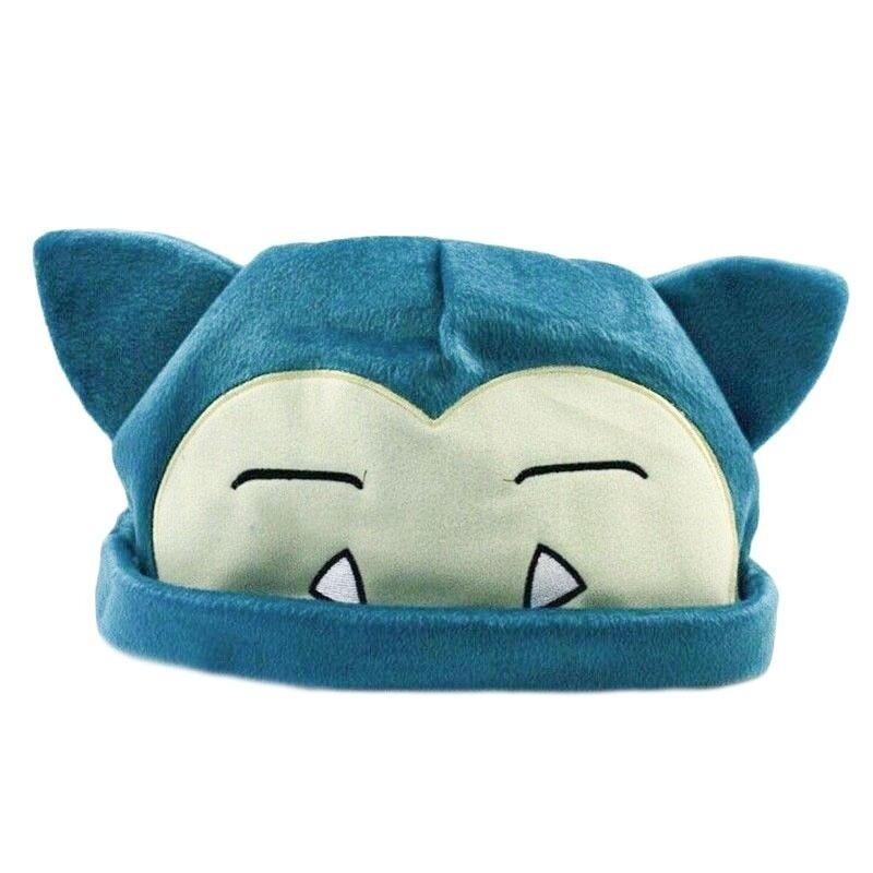 ขาย Pokemon Snorlax Soft Plush Cap Warm Hat Beanie Caps Cosplay Gift for Kids - intl