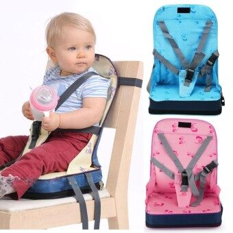Portable Baby Toddler Infant Dining Chair Booster Seat Travel Harness Safety - intl