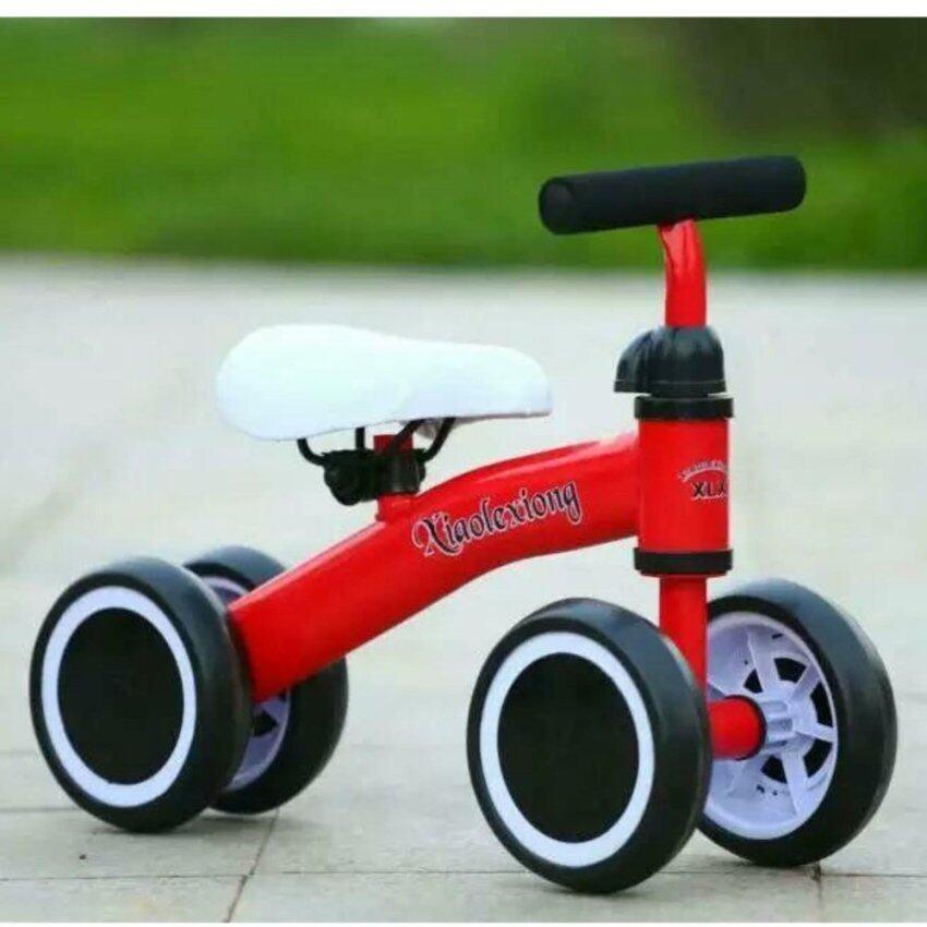 รถจักรยานทรงตัว รถจักรยานบาล๊านซ์รุ่นใหม่ล่าสุด สีแดง image