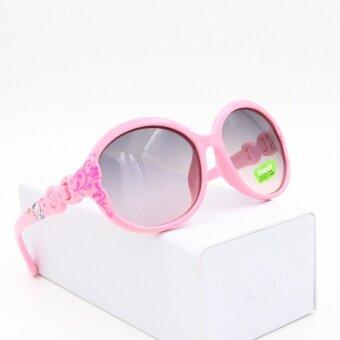 แว่นตาน่ารักหญิงแว่นตากันแดดบุคลิกภาพของเด็ก
