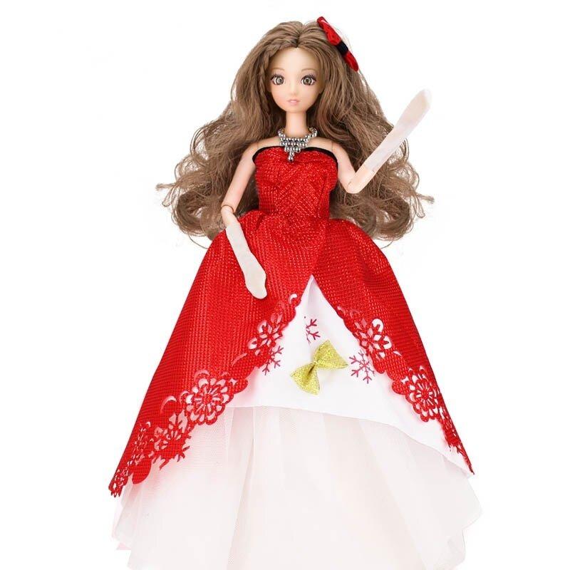 ฮยอนเต้นตุ๊กตาแต่งงานเด็กเจ้าหญิงกระโปรง
