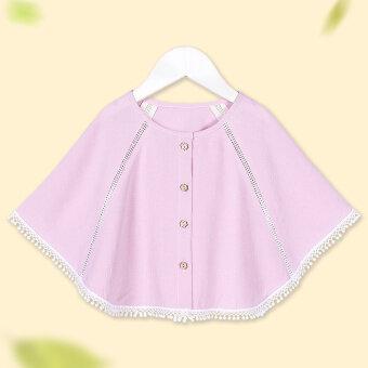 ผ้าฝ้ายฤดูร้อนส่วนบางเสื้อคลุมเวตเตอร์ถักผ้าคลุมไหล่ขนาดเล็ก