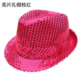 แจ๊สเลื่อมชายและหญิงการแสดงการแสดงหมวกหมวก