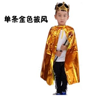 เจ้าชายฮาโลวีนเด็กเครื่องแต่งกายที่สถานรับเลี้ยงเด็กเสื้อคลุม