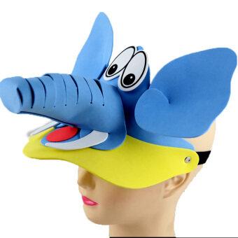 ช้าง สถานรับเลี้ยงเด็กช้างสัตว์หน้ากากหมวก