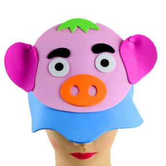 หมูน้อย สถานรับเลี้ยงเด็กสัตว์หน้ากากหมวก
