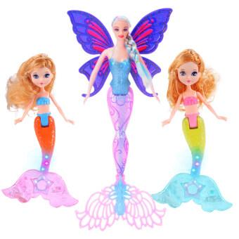 น้ำแข็งและหิมะเด็กของเล่นตุ๊กตาตุ๊กตาบาร์บี้ตุ๊กตา