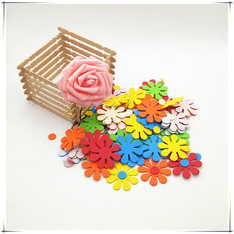 ขนาดเล็กดอกคำฝอย เด็กที่ทำด้วยมือสถานรับเลี้ยงเด็กสติกเกอร์