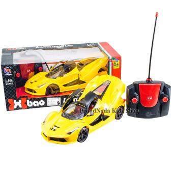 ProudNada Toys ของเล่นเด็กรถบังคับวิทยุ(สีเหลือง) 1:16XIANGBAO LUXURIOUS Series Radio Control Car NO.XB20