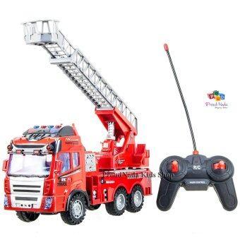 ProudNada Toys ของเล่นเด็กรถกระเข้าดับเพลิงบังคับวิทยุ FIRE TRUCK RADIO CONTROL NO.313