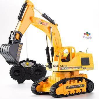 ProudNada Toys ของเล่นเด็กรถแม็คโครบังคับวิทยุ KAIYEUNG The God Of Earth Remote Control Truck NO.6855E