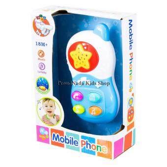 ProudNada Toys ของเล่นเด็กโทรศัพท์เด็ก(สีฟ้า) Mobile PhoneNO.600811