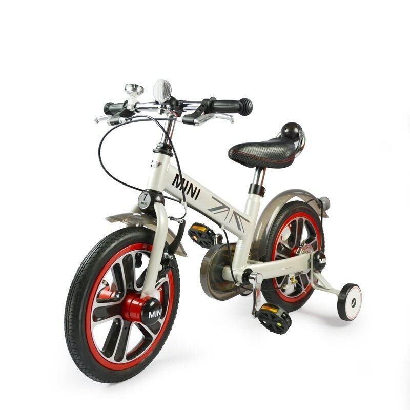 Rastar จักรยานเด็ก Mini Cooper 14 Kid Running Bike - White