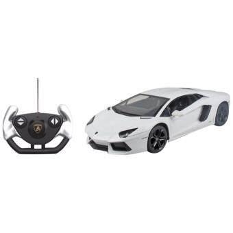 Rastar รถ Model บังคับวิทยุ Lamborghini Aventador LP700 - White