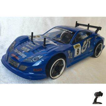 Rctoystory รถบังคับ รีโมทย์ รถเก๋ง 1/10 เทอร์โบ 2.4(สีน้ำเงิน)