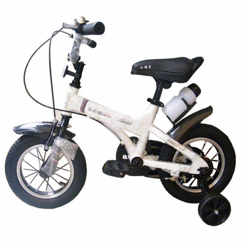 Rctoystory จักรยานเด็ก ทรงสปอร์ต 12 นิ้ว (สีขาว)
